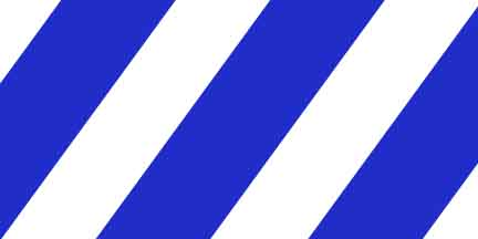 FLG SWB - Blue/White Striped Flagging